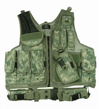 TG100A ACU Digital Camouflage Deluxe Tactical Vest