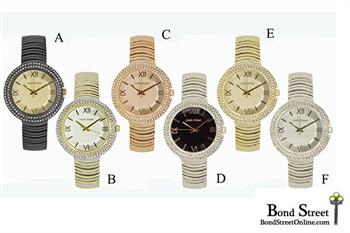 "Mark Naimer ""The Madison"" Women's Bracelet Watches"