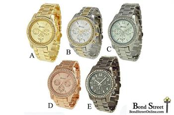 Bling Bracelet Watches