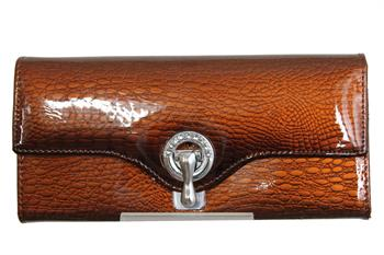 AW042SC Brown Genuine leather wallet