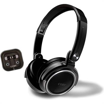 Coby 2 in 1 Jammerz Xtra Headphone/Earbuds