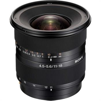Sony DT 11-18mm f/5.5-5.6 Super Wide Zoom Lens
