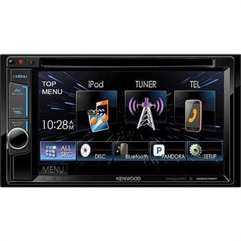 Kenwood Double DIN Bluetooth In-Dash DVD/AM/FM Receiver