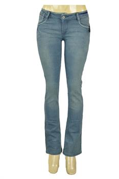 JUNIOR - LIGHT BLUE - BOOT CUT FITTED JEANS