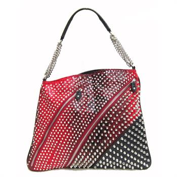 G&R Croc Bling Chain Bag Red