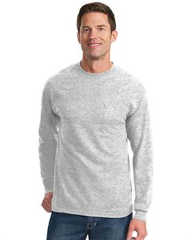 Port & Company ® Tall Long Sleeve Essential T-Shirt with Pocket
