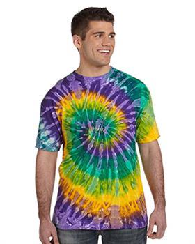 GotApparel - Tie-Dye 5.4 oz., 100% Cotton Tie-Dyed T-Shirt
