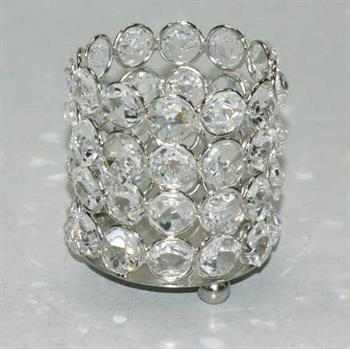 CRYSTAL VOTIVE HOLDER (607)