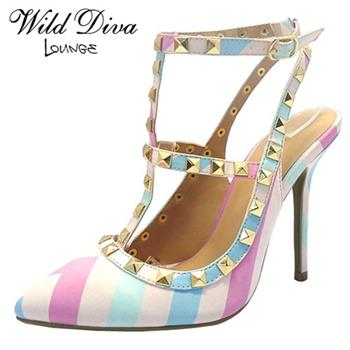 Wild Diva Lounge ADORA-63B HIGH HEELS PUMPS