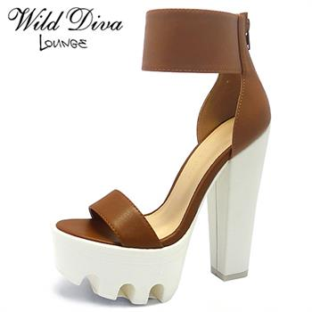 Wild Diva Lounge VIVE-04 HIGH HEEL LUG SOLES