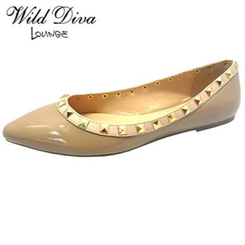 Wild Diva Lounge PIPPA-36 CASUAL BALLERINA FLATS