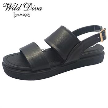Wild Diva Lounge NOVA-02 FASHION FOOTBED SANDALS