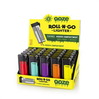 Roll-N-Go Lighter Display 25 CT